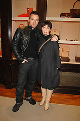 EWAN McGREGOR and his wife EVE at a party to celebrate the launch of the book 'Long Way Down' by Ewan McGregor and Charley Boorman held at Smythson, 40 New Bond Street, London W1 on 19th November 2007,<br /><br />NON EXCLUSIVE - WORLD RIGHTS