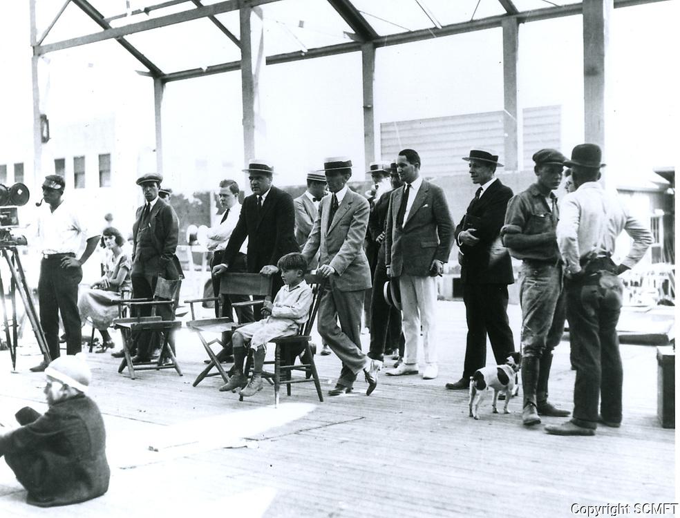 1924 Filming at Hal Roach Studios