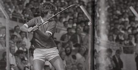 Cork's wing back Tom Cashman, 1984.