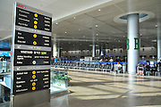 Israel, Ben-Gurion international Airport, Terminal 3, Arrival hall