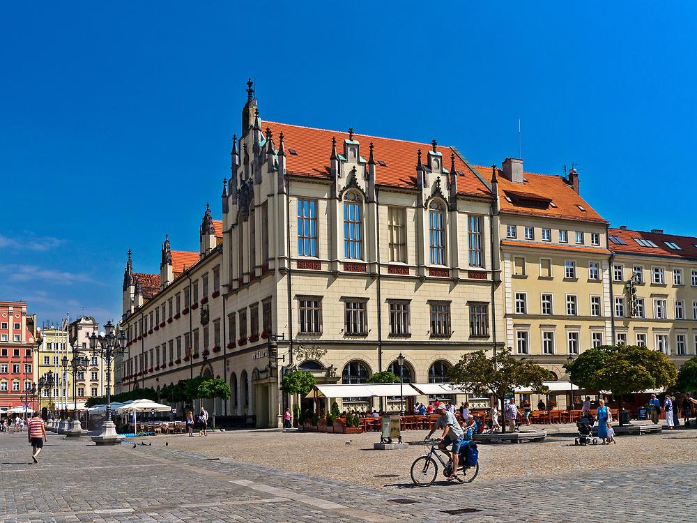Plac Solny we Wrocławiu, Polska<br /> Salt Market Square in Wrocław, Poland