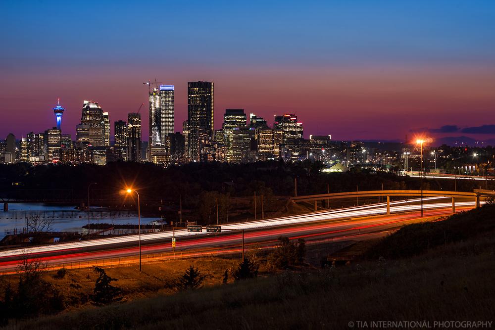 Calgary Blue Hour