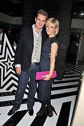 EMILIA FOX and WILLIAM BANKS-BLANEY at the InStyle Best of British Talent Event in association with Lancôme and Avenue 32 held at The Rooftop Restaurant, Shoreditch House, Ebor Street, London E1 on 30th January 2013.