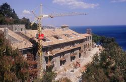 New building work on the coast near Malaga,