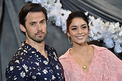 """Photo Call For STX Films' """"Second Act"""" Four Seasons Hotel Los Angeles at Beverly Hills, Los Angeles, California. 09 Dec 2018 Pictured: Milo Ventimiglia,Vanessa Hudgens. Photo credit: AXELLE/BAUER-GRIFFIN / MEGA TheMegaAgency.com +1 888 505 6342"""
