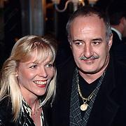 Nieuwjaarsreceptie Strengholt 1997, Jan Akkerman en vrouw