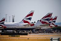 British Airways set to cut 12,000 jobs as the  Coronavirus crisis grounds flights Photo by ichael Palmer