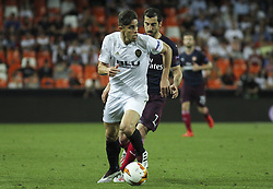 May 9, 2019 - Valencia, Valencia, Spain - Paulista of Arsenal in action during UEFA Europa League football match, between Valencia and Arsenal, May 09th, in Mestalla stadium in Valencia, Spain. (Credit Image: © AFP7 via ZUMA Wire)