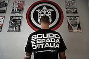 Casapound. Rome, 24 october 2012. Christian Mantuano / OneShot