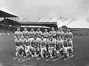 All Ireland Senior Hurling Championship Final,.04.09.1960, 09.04.1960, 4th September 1960,.Minor Tipperary v Kilkenny, .Senior Wexford v Tipperary, Wexford 2-15 Tipperary 0-11,..Wexford Team..Hurling - Incorrect Folder. 04091960AISHCF,