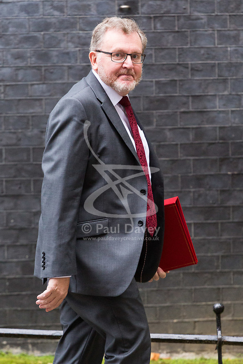 London, October 10 2017. Scotland Secretary David Mundell attends the UK cabinet meeting at Downing Street. © Paul Davey