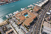 Aerial Photo Of Balboa Bay Club And Resort In Newport Beach