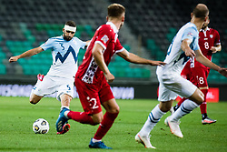 Nino Kouter of Slovenia during the UEFA Nations League C Group 3 match between Slovenia and Moldova at Stadion Stozice, on September 6th, 2020. Photo by Grega Valancic / Sportida