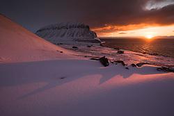 Bjørndalen close to Longyearbyen in Svalbard, Norway