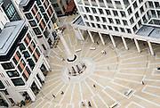 Paternoster Square from above,London.