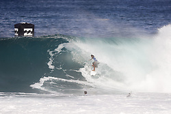 December 11, 2017 - Haleiwa, Hawaii, U.S. - Caio Ibelli of Brazil advances directly to Round Three of the 2017 Billabong Pipe Masters after winning Heat 7 of Round One at Pipe, Oahu, Hawaii, USA...Billabong Pipe Masters 2017. (WSL via ZUMA Wire/ZUMAPRESS.com)