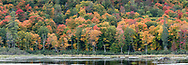 Fall foliage color at the Beaver Pond at Gatineau Park in Gatineau, Québec, Canada.  Photographed from the Gatineau Parkway in during Fall Rhapsody at Gatineau Park.
