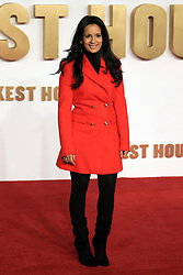 at the Darkest Hour UK Premiere at the Odeon Leicester Square in London, UK. 11 Dec 2017 Pictured: Sonali Shah. Photo credit: MEGA TheMegaAgency.com +1 888 505 6342
