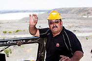 13-02-2016 -  Foto Cullinan diamantmijn: replica's. Genomen tijdens tour bij Petra Cullinan Diamantmijn in Cullinan, Zuid-Afrika.