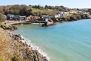 Attractive coastal village of Glandore, County Cork, Ireland