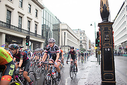 The peloton rides past Charing Cross during the Prudential Ride London Classique - a 66 km road race, starting and finishing in London on July 29, 2017, in London, United Kingdom. (Photo by Balint Hamvas/Velofocus.com)