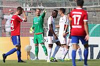ALL BRUK AV BILDET BLIR FAKTURERT. INNGÅR IKKE I AVTALER.<br /> <br /> Fotball<br /> Tyskland<br /> Foto: imago/Digitalsport<br /> NORWAY ONLY<br /> <br /> DFB-Pokal - 1. Runde - Fußball - FC Ingolstadt 04 - SpVgg Unterhaching - mitte Torwart Örjan Haskjard Nyland (26, FCI) 1. BL - FC Ingolstadt 04 Saison 2015/2016<br /> <br /> Ørjan Håskjold Nyland