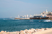 Jaffa port, Israel as seen from the south