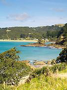 View ofTaiaue Bay and Te Ngaere, Northland, New Zealand.