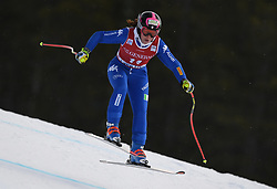 30.11.2017, Lake Louise, CAN, FIS Weltcup Ski Alpin, Lake Louise, Abfahrt, Damen, 3. Training, im Bild Elena Fanchini (ITA) // Elena Fanchini of Italy in action during the 3rd practice run of ladie's Downhill of FIS Ski Alpine World Cup at the Lake Louise, Canada on 2017/11/30. EXPA Pictures © 2017, PhotoCredit: EXPA/ SM<br /> <br /> *****ATTENTION - OUT of GER*****