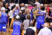DESCRIZIONE : Campionato 2014/15 Serie A Beko Grissin Bon Reggio Emilia - Dinamo Banco di Sardegna Sassari Finale Playoff Gara7 Scudetto<br /> GIOCATORE : Jerome Dyson Kenny Kadji<br /> CATEGORIA : esultanza postgame<br /> SQUADRA : Banco di Sardegna Sassari<br /> EVENTO : Campionato Lega A 2014-2015<br /> GARA : Grissin Bon Reggio Emilia - Dinamo Banco di Sardegna Sassari Finale Playoff Gara7 Scudetto<br /> DATA : 26/06/2015<br /> SPORT : Pallacanestro<br /> AUTORE : Agenzia Ciamillo-Castoria/GiulioCiamillo<br /> GALLERIA : Lega Basket A 2014-2015<br /> FOTONOTIZIA : Grissin Bon Reggio Emilia - Dinamo Banco di Sardegna Sassari Finale Playoff Gara7 Scudetto<br /> PREDEFINITA :