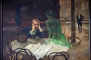Der Absinthtrinker (tschechisch: Piják absintu) aus dem Jahre 1901 hängt im berühmten Prager Café Slavia und zeigt einen vom Absinthkonsum gezeichneten Herren sowie eine ?grüne Fee?, wie Absinth auch genannt wird.