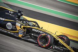 May 11, 2018 - Barcelona, Catalonia, Spain - NICO HULKENBERG (GER) drives during the first practice session of the Spanish GP at Circuit de Catalunya in his Renault RS18 (Credit Image: © Matthias Oesterle via ZUMA Wire)