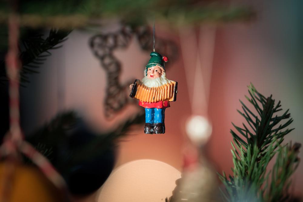 29 December 2016, Järvsö, Sweden: Christmas decorations in country house in Karsjö near Järvsö, Sweden.