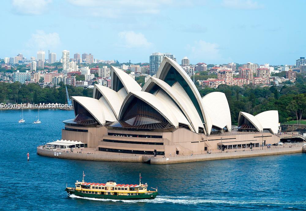 Sydney Opera House in Sydney Australia
