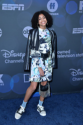 May 14, 2019 - New York, NY, USA - May 14, 2019  New York City..Arica Himmel attending Walt Disney Television Upfront presentation party arrivals at Tavern on the Green on May 14, 2019 in New York City. (Credit Image: © Kristin Callahan/Ace Pictures via ZUMA Press)