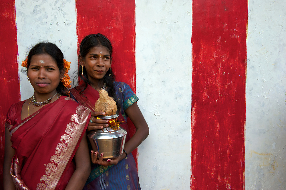 Tamil New Year festival amidst the tea plantations of Hatton