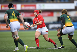 Wales Carys Phillips<br /> Wales Women v South Africa Women<br /> Autumn International<br /> <br /> Photographer Mike Jones / Replay Images<br /> Cardiff Arms Park<br /> 10th November 2018<br /> <br /> World Copyright © 2018 Replay Images. All rights reserved. info@replayimages.co.uk - http://replayimages.co.uk