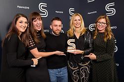 Team Gorenje and Sportanzo at Sports Awards & Brands ceremony during Sports marketing and sponsorship conference Sporto 2018, on November 22, 2017 in Hotel Slovenija, Congress centre, Portoroz / Portorose, Slovenia. Photo by Vid Ponikvar / Sportida