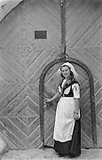 Girl in Burgenland costume, Eisenstadt, Austria, 1938