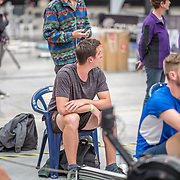 Jack Woods MALE HEAVYWEIGHT U23 1K Race #15  12:45pm<br /> <br /> www.rowingcelebration.com Competing on Concept 2 ergometers at the 2018 NZ Indoor Rowing Championships. Avanti Drome, Cambridge,  Saturday 24 November 2018 © Copyright photo Steve McArthur / @RowingCelebration