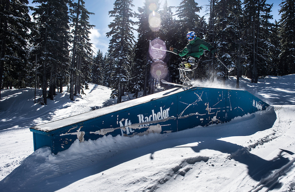 """Hitting boxes and rails is no problem for Ravi. He also loves getting big air. The largest jump he's ever hit was over 50 feet. """"But usually when I'm doing jumps that big someone's paying me to do it,"""" he laughs."""