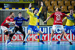 Veron Nacinovic of RK Celje Pivovarna Lasko during handball match between RK Celje Pivovarna Lasko (SLO) and Aalborg Handbold (DEN) in Group Phase B of EHF Champions League 2020/21, on 16 September, 2020 in Arena Zlatorog, Celje, Slovenia. Photo by Grega Valancic / Sportida