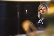 MANHATTAN, NEW YORK, APRIL 12, 2018 Day in the life of Arianna Huffington, seen at home in the West Village, at work at Thrive Media, and at the Women in the World gala at Lincoln Center in Manhattan, NY. 4/12/2018