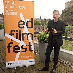 2016 Edinburgh International Film Festival, Alex Kapranos (Musician) during the WORLD PREMIERE (DOCUMENTARY) LOST IN FRANCE, The Apex Hotel Grassmarket, Edinburgh16th June 2016, (c) Brian Anderson   Edinburgh Elite media