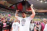 Pascal PAPE  - 13.06.2015 - Clermont / Stade Francais - Finale Top 14<br />Photo : Nolwenn Le Gouic / Icon Sport