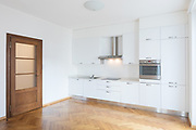 Kitchen in newly renovated open space