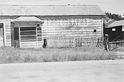 9424-M5-10. Hazeltine's Photograph studio. Martin Hazeltine's photo studio on Little Lake St., Mendocino, which opened in March 1883. Ca. 1960 photo.
