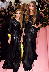 Mary-Kate and Ashley Olsen attending the Metropolitan Museum of Art Costume Institute Benefit Gala 2019 in New York, USA.