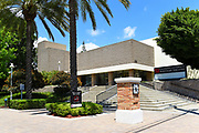 The Waltmar Theatre Building on Campus at Chapman University