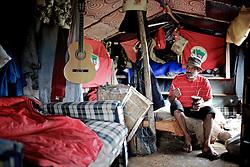Gilberto Soares (49) acampado do MST - Movimento Sem Terra em área de Unidade Prisional, em Charqueadas.  FOTO: Jefferson Bernardes/Preview.com